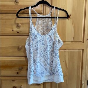 Maurices Lace Razorback Tank Top